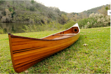 Real  Western Red Cedar Canoe 18