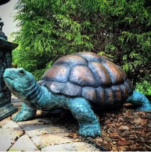 Bronze Turtle Fountain Statue Medium