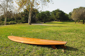 Red Cedar Long Surf Board