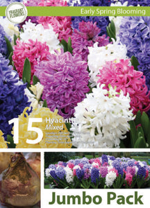 Friend of the Earth Mixed Hyacinth Jumbo Packs - Unit #14103