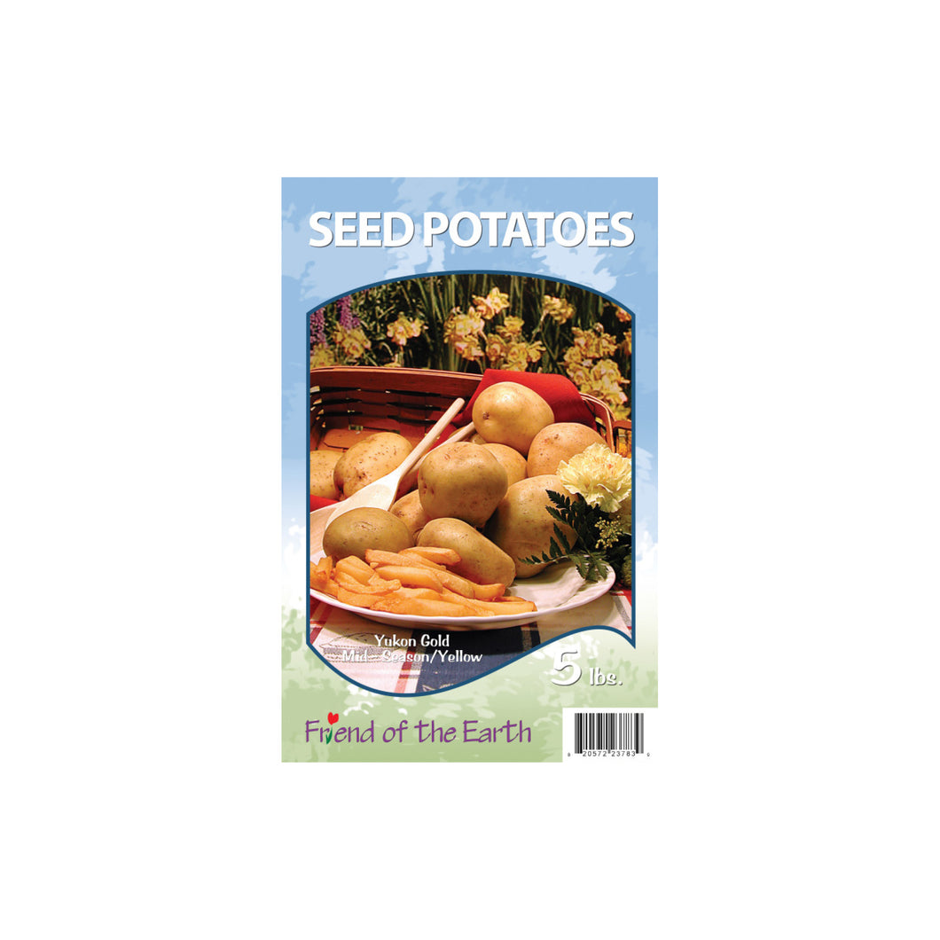 Yellow Seed Potatoes - Yukon Gold Unit #15405