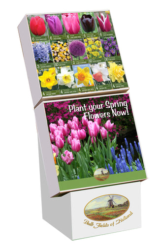 Bulb Fields of Holland Fall Bulb Display in Color Retail Impulse Boxes Unit #25111