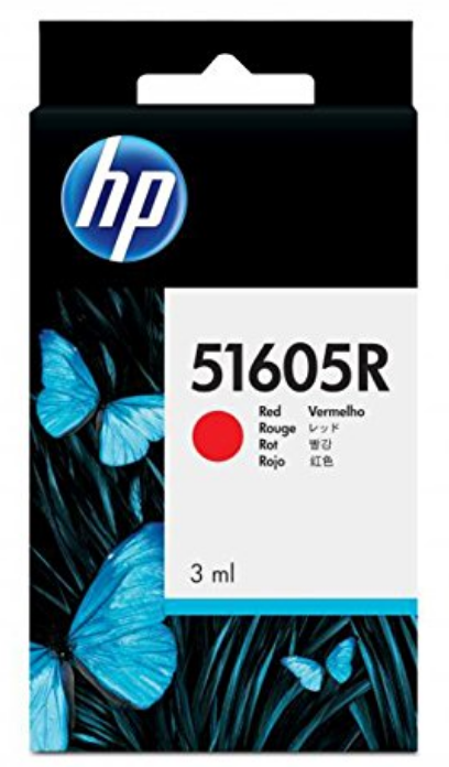 HP Red Genuine OEM Original Ink Cartridge (51605R) for Inkjet