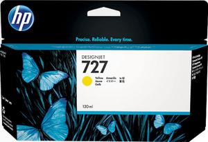 HP 727 130-ml Genuine OEM Original Yellow Designjet Ink Cartridge (B3P21A)