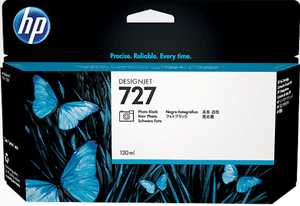 HP 727 130-ml Genuine OEM Original Photo Black Designjet Ink Cartridge (B3P23A)