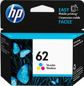 HP 62 Genuine OEM Original Tri-color (C2P06AN)