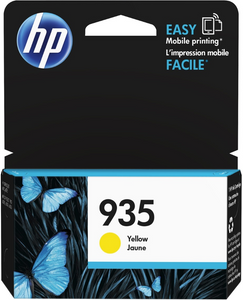 HP 935 Genuine OEM Original Yellow Ink Cartridge (C2P22AN)