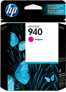 HP 940 (C4904AN) Genuine OEM Original Magenta Ink Cartridge