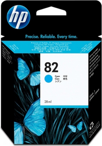 HP 82 Cyan Genuine OEM Original Ink Cartridge (C4911A)