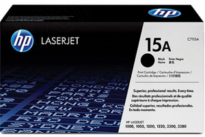 Genuine OEM HP Laserjet 15A (C7115A) Toner / Genuine OEM HP Laserjet 3300 Toner Cartridge