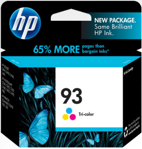 HP 93 (C9361WN) Genuine OEM Original Tri-color Original Ink Cartridge