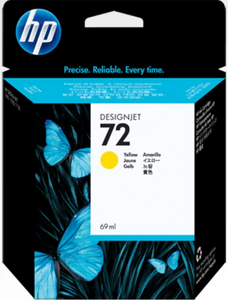 HP 72 69ml Genuine OEM Original Yellow Ink Cartridge (C9400A)