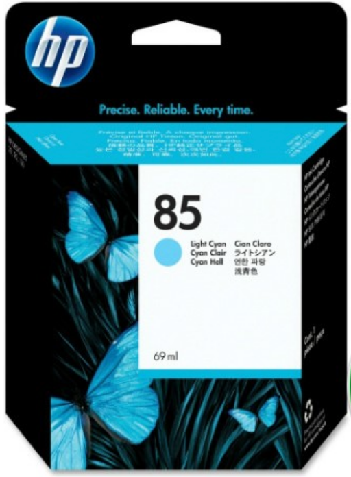 HP 85 Genuine OEM Original  Cyan ink cartridge - 69 ML (C9428A)