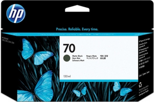 HP 70 Photo Black 130 ml Genuine OEM Original Ink Cartridge Use in selected HP DesignJet printers (C9449A)