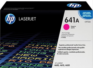 Genuine OEM HP Laserjet 641A (C9723A) Magenta Toner / Genuine OEM HP Color Laserjet 4610 Toner Cartridge