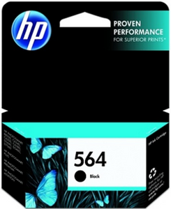 HP 564 (CB316WN) Genuine OEM Original Black Ink Cartridge
