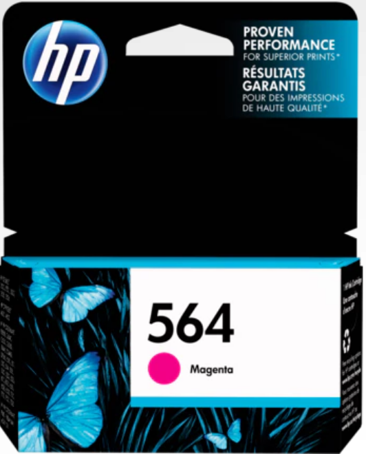 HP 564 (CB319WN) Genuine OEM Original Magenta Ink Cartridge