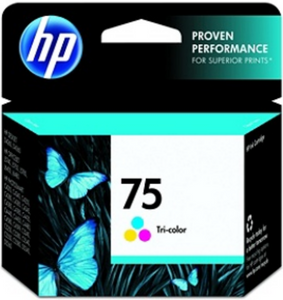 HP 75 (CB337WN) Tri-color Genuine OEM Original Ink Cartridge