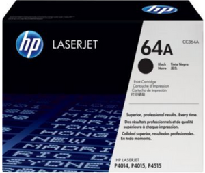 Genuine OEM HP Laserjet 64A (CC364A) Black Toner / Genuine OEM LaserJet P4515 Toner Cartridge