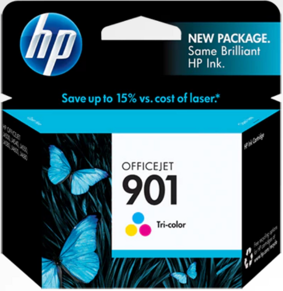 HP 901 (CC653AN) Genuine OEM Original Black Ink Cartridge