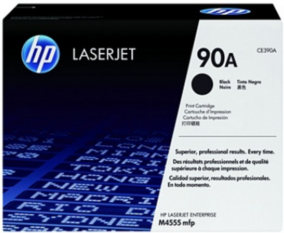 Genuine OEM HP Laserjet 90A (CE390A) Toner / Genuine OEM HP Laserjet M602 Toner Cartridge