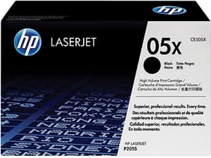 Genuine OEM HP Laserjet 05X (CE505X) High Yield Toner / Genuine OEM HP Laserjet P2055 Toner Cartridge