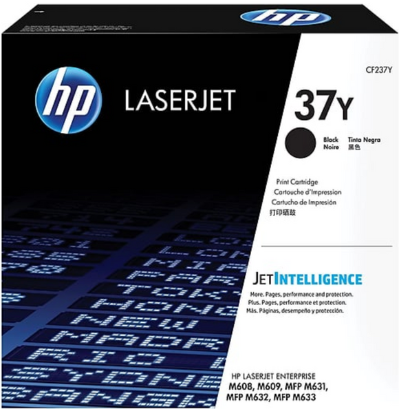 Genuine OEM HP Laserjet 37Y (CF237Y) Extra High Yield Toner / Genuine OEM HP Laserjet M609 Toner Cartridge