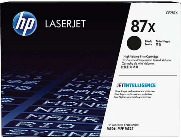 Genuine OEM HP Laserjet 87X (CF287X) XL Toner / Genuine OEM HP Laserjet M506 Toner Cartridge