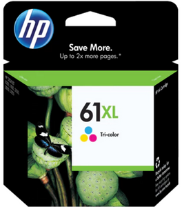HP 61XL (CH564WN) Genuine OEM Original High Yield Tri-color Ink Cartridge