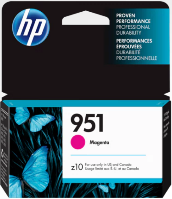 HP 951 (CN051AN) Genuine OEM Original Magenta Ink Cartridge