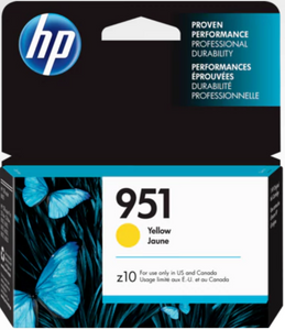 HP 951 (CN052AN) Genuine OEM Original Yellow Original Ink Cartridge