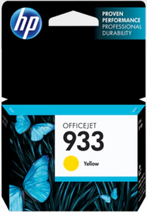 HP 933 (CN060AN) Genuine OEM Original Yellow Original Ink Cartridge