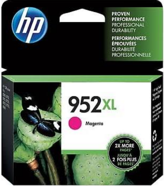 HP 952XL (L0S64AN) Genuine OEM Original Magenta Ink Cartridge