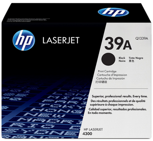 Genuine OEM HP Laserjet 39A (Q1339A) Toner / Genuine OEM HP Laserjet 4300 Toner Cartridge