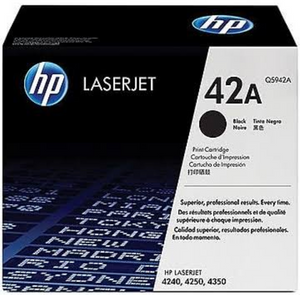 Genuine OEM HP Laserjet 42A (Q5942A) Toner / Genuine OEM HP Laserjet 4240 Toner Cartridge