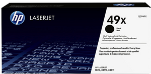 Genuine OEM HP Laserjet 49X (Q5949X) High Yield Toner / Genuine OEM HP Laserjet 3392 Toner Cartridge