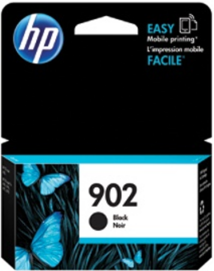 HP 902 Genuine OEM Original Black Ink Cartridge (T6L98AN)