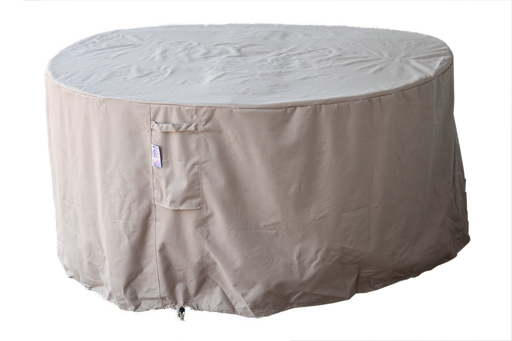 "Outdoor Round Daybed Cover 75"" Rainproof"