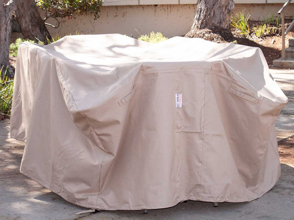 Patio Dining Cover Rectangle Waterproof 99 Inches
