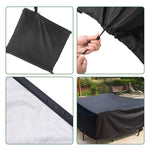"Outdoor Sofa Cover All-Purpose Protection 61"" x 37"" x 26"""