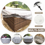 "Maxime Outdoor Furniture Cover Large Waterproof 83.9"" x 52"" x 29.1"""