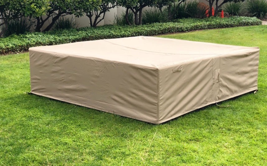 Outdoor Sectional Furniture Cover Rectangle Extra large