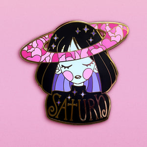 Saturn Child - Enamel Pin