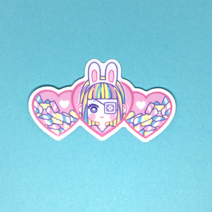 Bunny and Friends - Vinyl Sticker