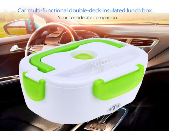 12 V Multi-functional Double-deck Insulated Electronic Lunch Box