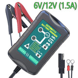 LST 6V/12V 1.5Amp Car Battery Charger Maintainer/Trickle Charger
