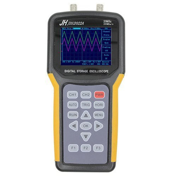 Double-channel handheld Digital oscilloscope