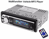 Car Stereo FM/SD/MP3 Player AUX/USB with Remote Control