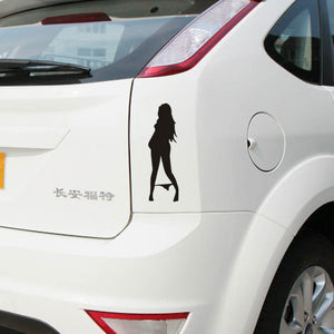 Bikini Girl body Decal