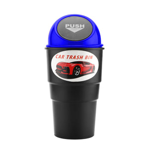 Universal Cup-Shaped Mini Auto Car Trash Rubbish Can Garbage Bin for Cup Holder - Hammond Auto